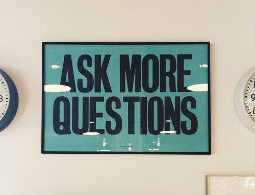 Realiza buenas preguntas, para obtener buenas respuestas